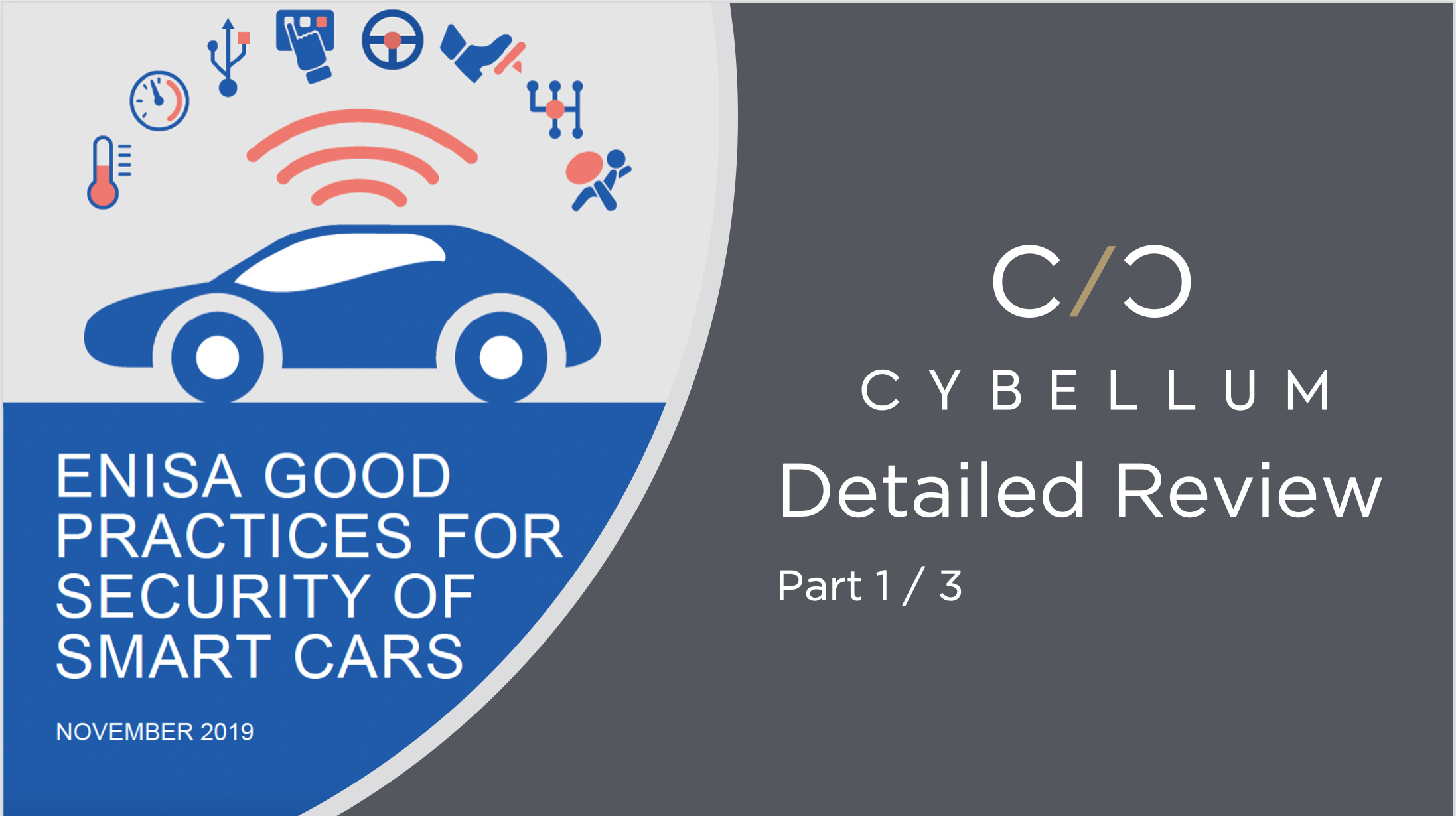 Enisa U0026 39 S Latest Report On Automotive Cybersecurity